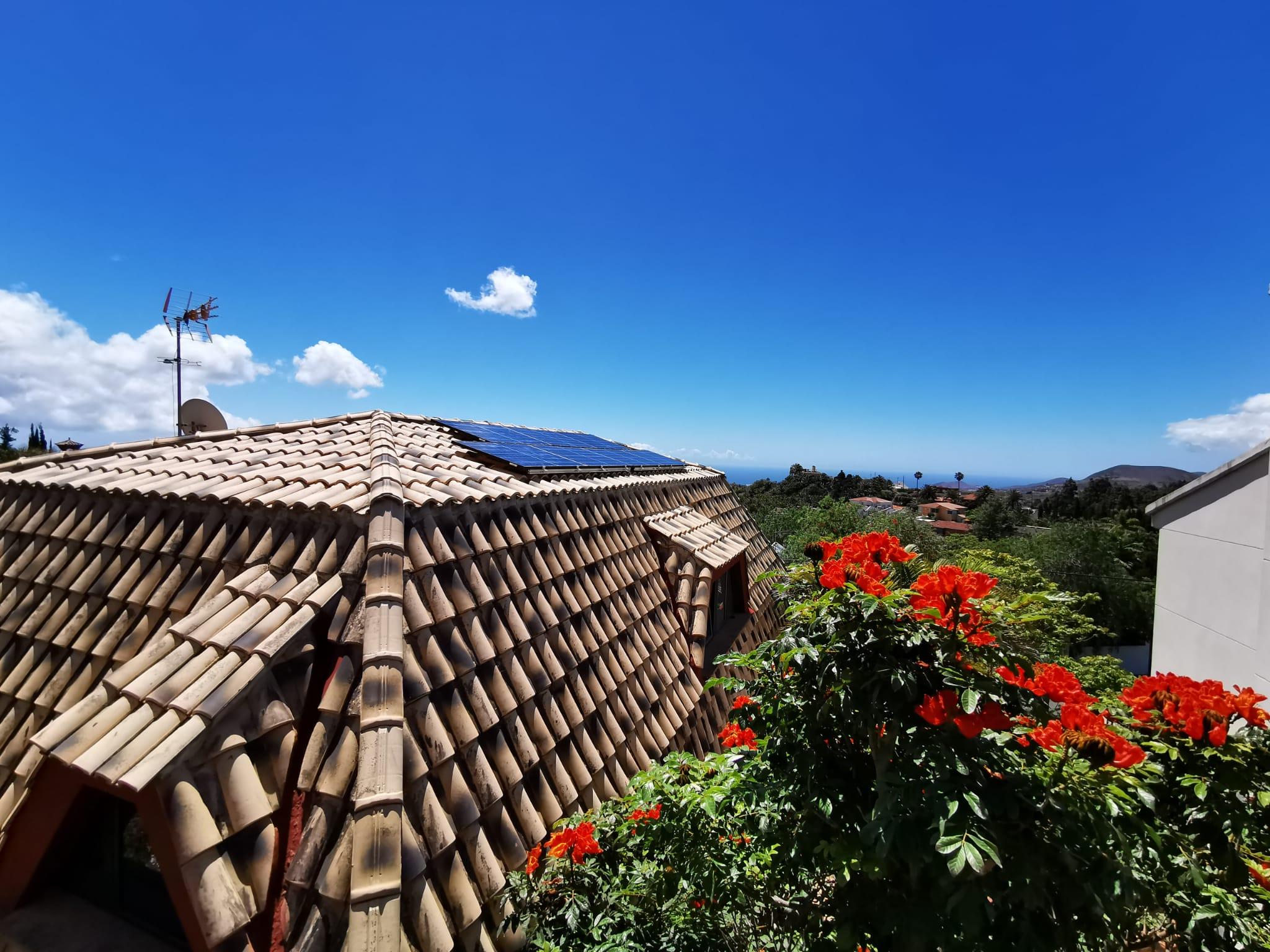 Instalación fotovoltaica para autoconsumo con almacenamiento