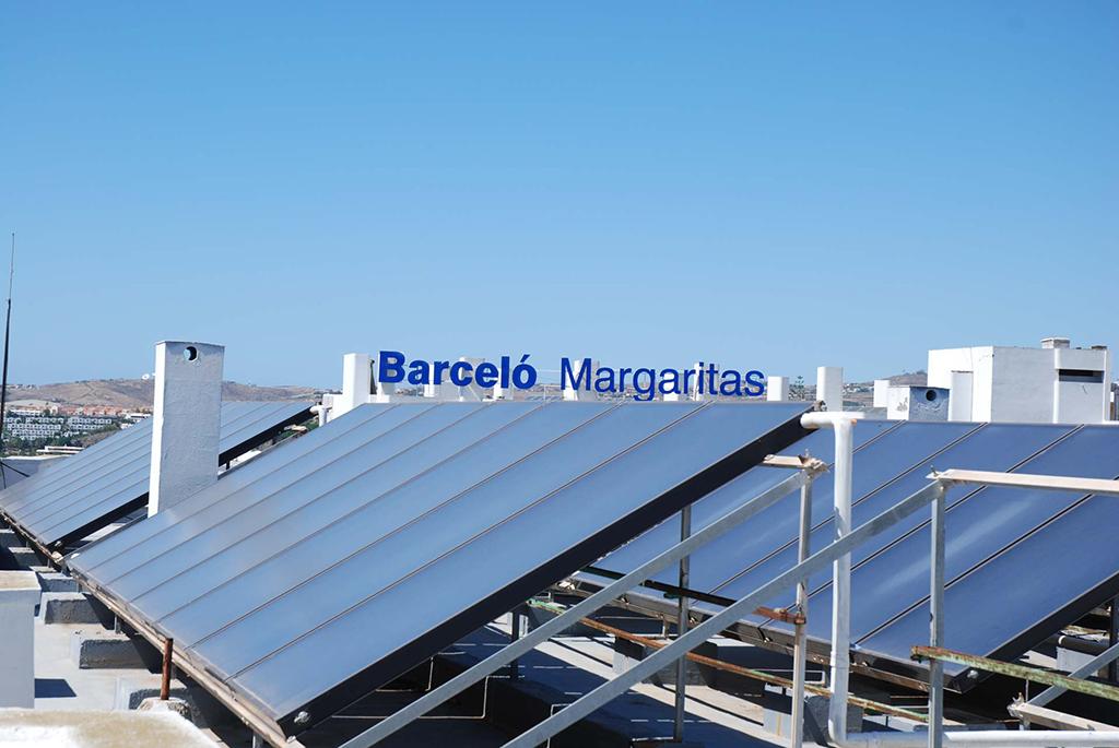 Mejora de la eficiencia energética en Barceló Margaritas mediante la renovación de instalación térmica por un sistema solar térmico para acs y piscinas