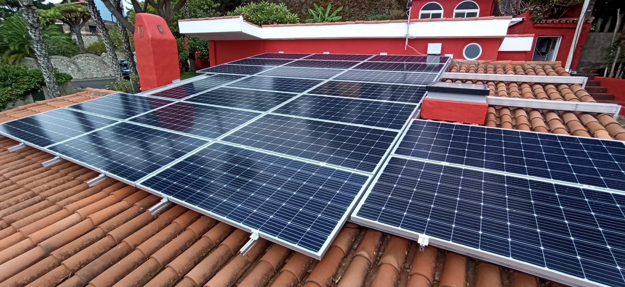 Instalación fotovoltaica de autoconsumo de 8 kW en vivienda unifamiliar