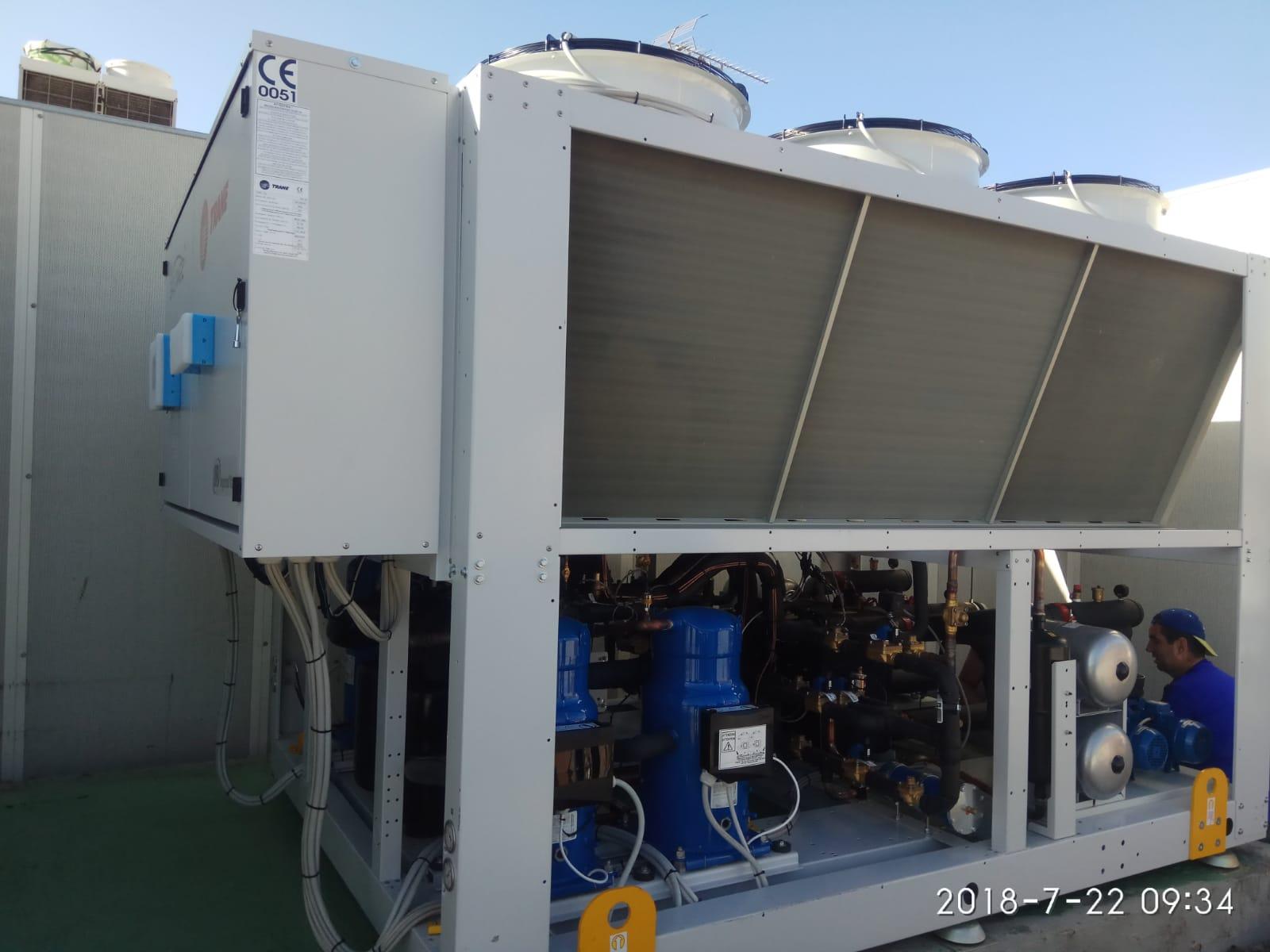 Mejora de la eficiencia energética en Hotel Barceló Contemporáneo. Renovación de instalación térmica por un sistema polivalente con recuperación de calor