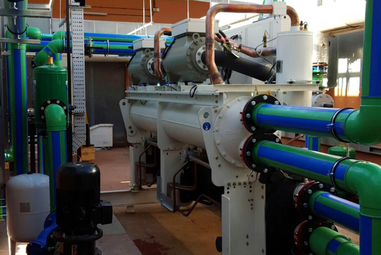 Mejora de la eficiencia energética mediante la renovación de instalación térmica por un sistema geotérmico de baja entalpía y una planta de energía solar térmica en hotel Barceló Occidental Jandía Mar