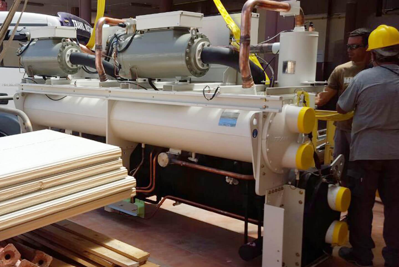 Mejora de la eficiencia energética mediante la renovación de instalación térmica por un sistema geotérmico de baja entalpía y una planta de energía solar térmica en Hotel Barceló Occidental Jandía Playa