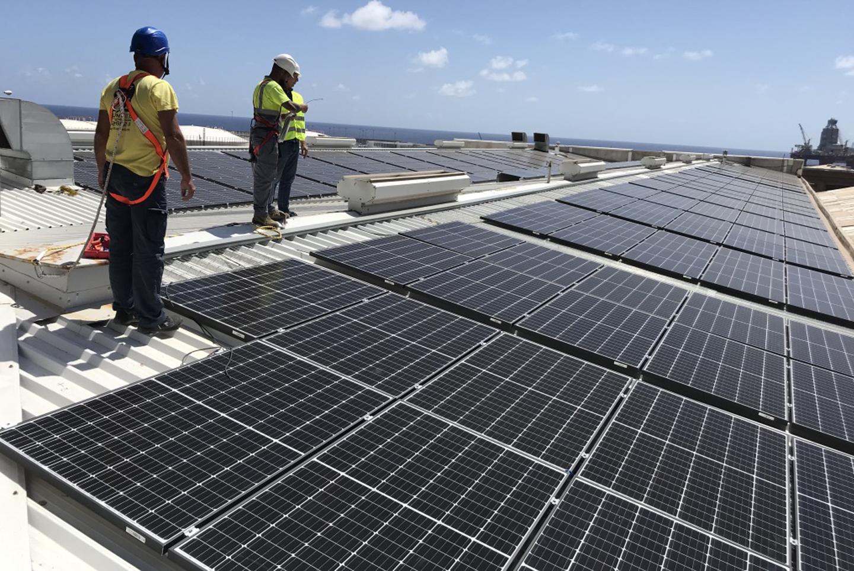 Planta fotovoltaica de 100 kW en régimen de autoconsumo para  autoabastecimiento de energía a industria de procesado de pescado Unión Martín